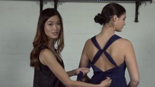 How  to tie the TULLE Multiway dress over 6 different ways