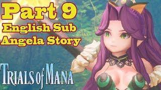 Trials of Mana Gameplay Walkthrough Part 9 (Angela Story)  No Commentary English Sub