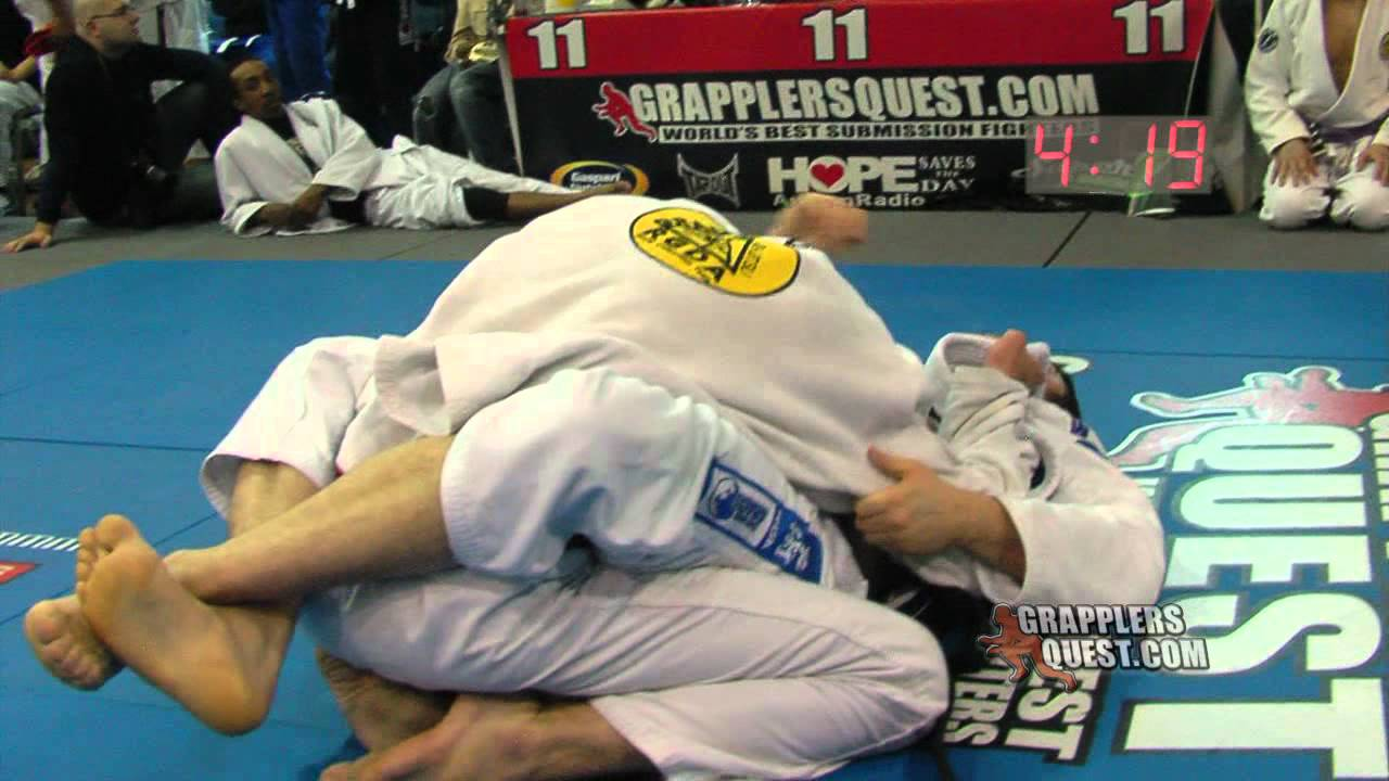 a8b768e02ef65 Submission! Black Belts! Brian O'Leary vs Cleverton Pizol at Grapplers  Quest Beast of East 2012