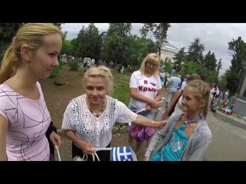Как живется Грекам в Крыму? Открытие памятника thumbnail