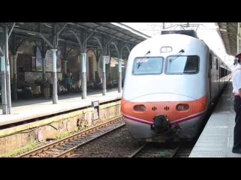 [HD] Ride the Taiwan TRA down Tzu-Chiang E1000 Train No. 107 (Taichung to Kaohsiung)