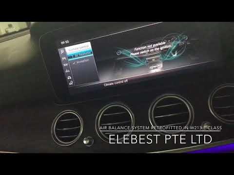 Mercedes-Benz W213 E Class Original Retrofitted