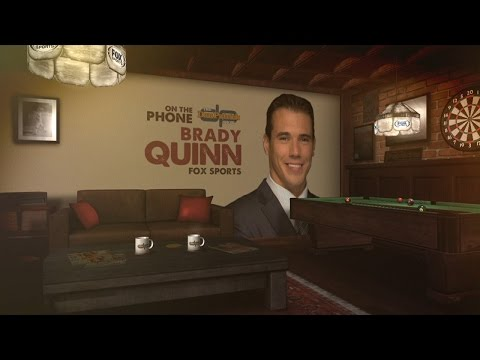 Brady Quinn was just too darn muscular for Jon Gruden to draft him