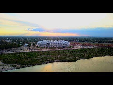 El estadio de Santiago del Estero avanza a pasos agigantados