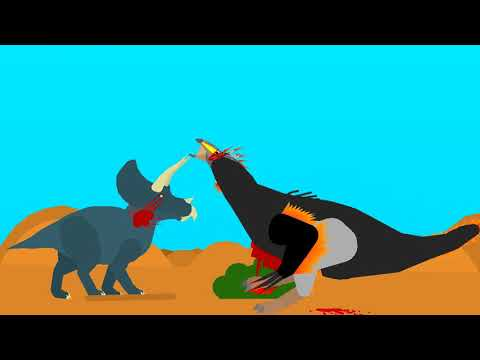 -BOTB- #7 Triceratops Vs Therizinosaurus (requested by lff)