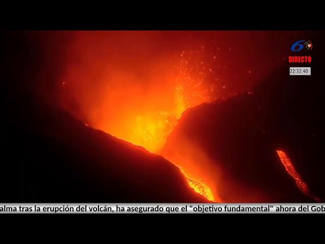DIRECTO VOLCÁN . Desde La Palma #erupción #vivo #comparte