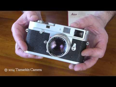 vintage-leica-50mm-summicron-f2-lenses---rigid-&-dual-range
