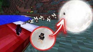 A FORMIGA FOI DORMIR E PAROU NA LUA! Minecraft - VIDA DE FORMIGA EP 07