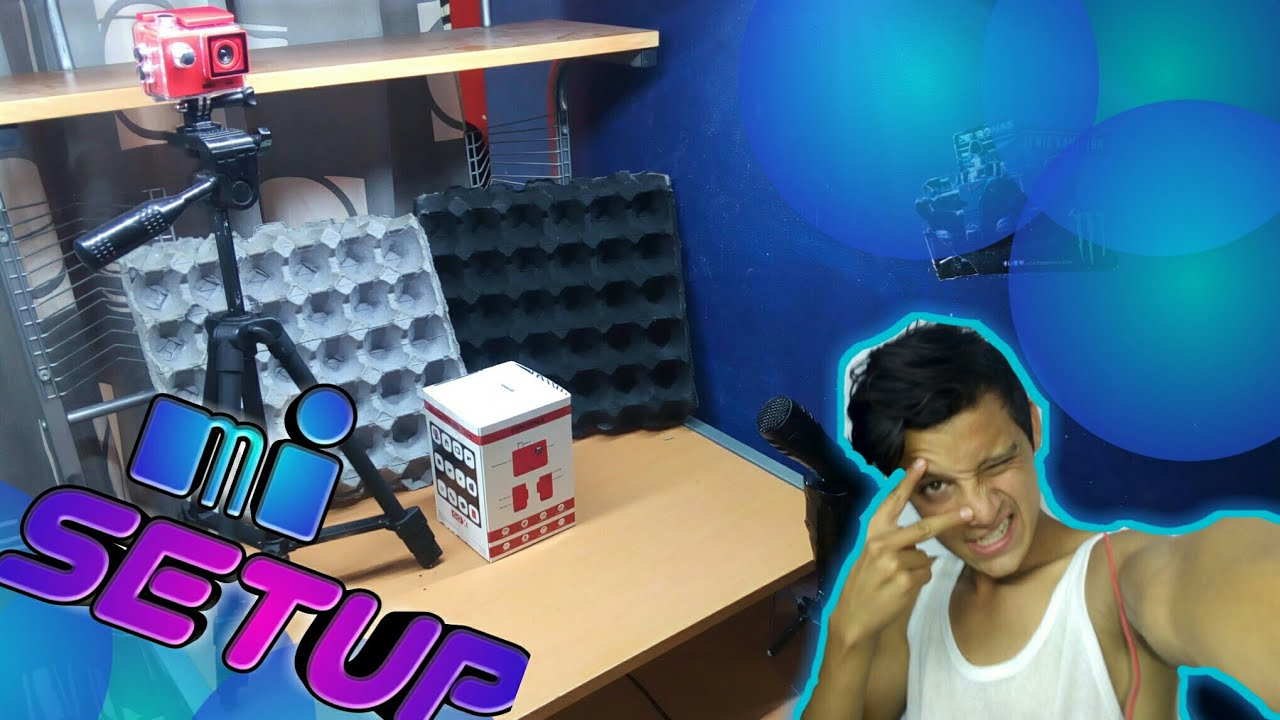 Mi setup donde grabo - YouTube - photo#26