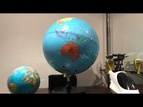 How big is Australia on a Globe?  A Flat Earth claim destroyed in minutes.