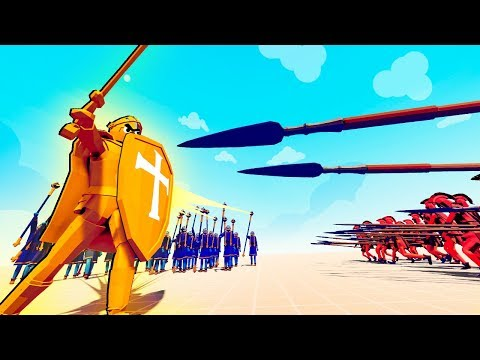TABS Unbeatable GOLDEN Knight Gets Revenge in Totally Accurate Battle Simulator!