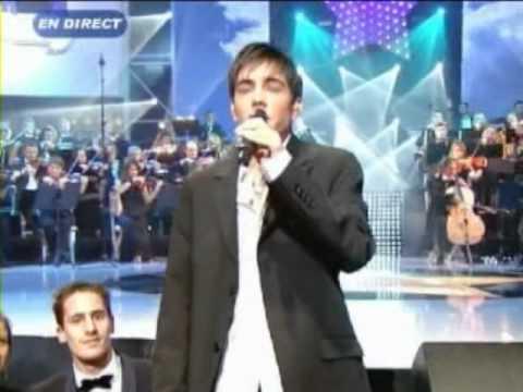 Karaoke Gregory Lemarchal Sos D Un Terrien En Detresse Avi Youtube