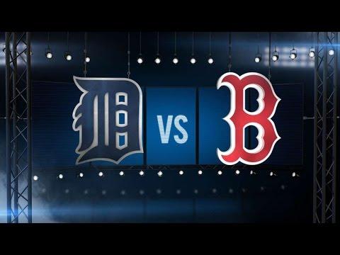 7/26/16: Tigers survive barnburner to down Sox 9-8
