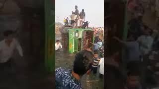 Midnapore Satkui bus accident live vedio. NH 60
