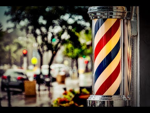 Here's the disturbing reason why barber poles are red, white, and blue