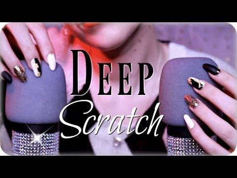 ASMR Intense Mic Scratching DEEP in Your Ears (NO TALKING) Nails, Mascara Wands, Japanese Pick +
