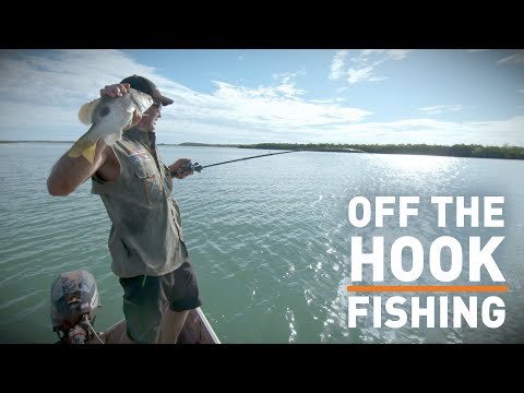 Off The Hook Fishing Action — Coastlines Of The Cape (Cape York, Australia)