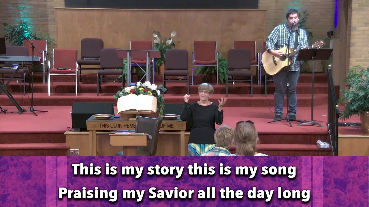 Wednesday night service at Oak Grove (August 4, 2021)