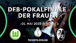 DFB-Pokalfinale der Frauen: jetzt Tickets sichern!