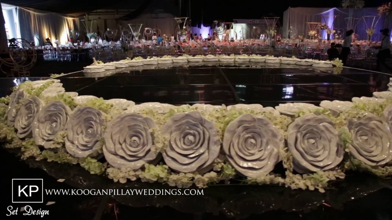Koogan Pillay Wedding Decor Durban Naailah Hassam S Set Youtube