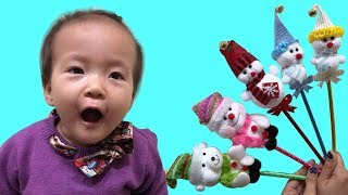Learn Colors with Snowman & Christmas Songs 2017, Merry Christmas
