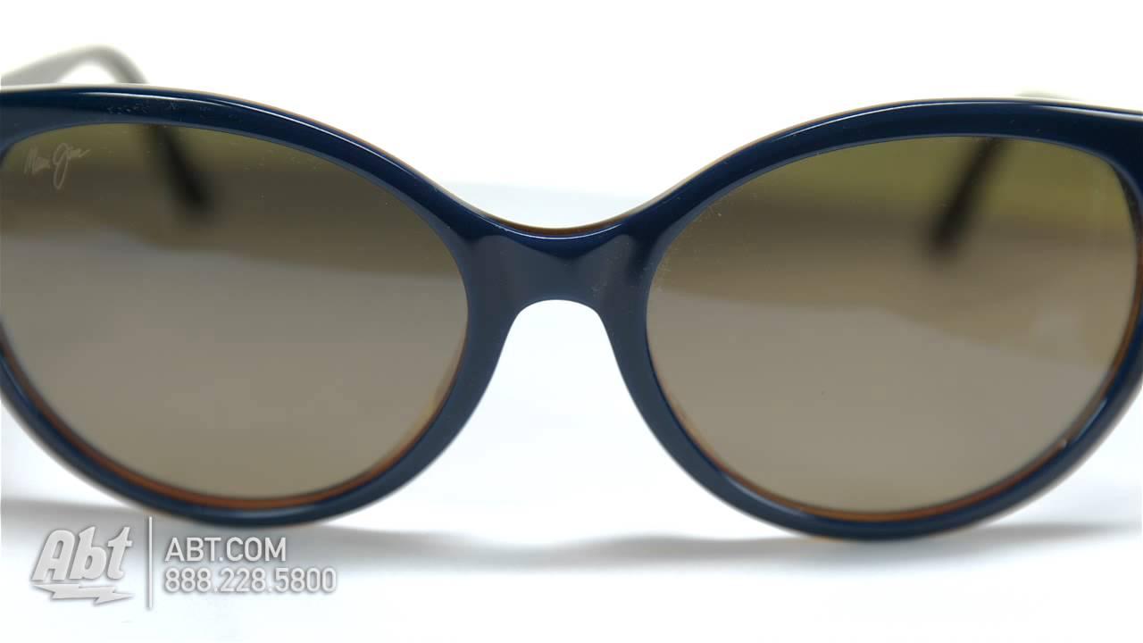 002c16d9a08 Maui Jim Venus Pools Womens Sunglasses HS10003D Overview - YouTube