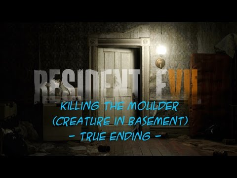 resident evil demo how to get true ending