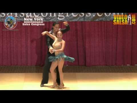 Chris Molina and Erika Lopez, Queens, NY @ NYC Salsa Congress 2012