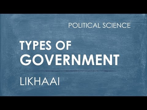 Polity Lecture (IAS) : Types of Government  || Likhaai || Vaibhav Garg