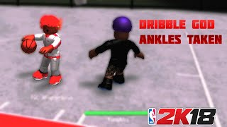 NBA 2K18 ROBLOX 2v3 Gameplay IM A DRIBBLE GOD - RB WORLD 2