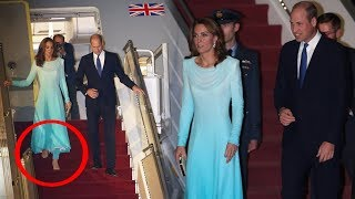British Royal Couple Prince William and Kate Middleton arrives in Pakistan