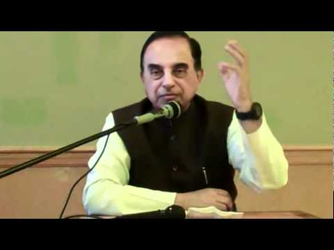 Part 6/7 - Current Political Situation In India - Subramanian Swamy in New Jersey