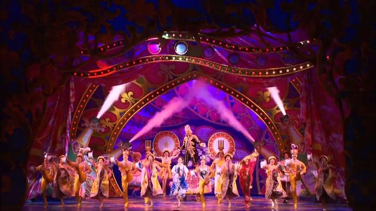 百老匯經典音樂劇「美女與野獸」精彩片段 - YouTube