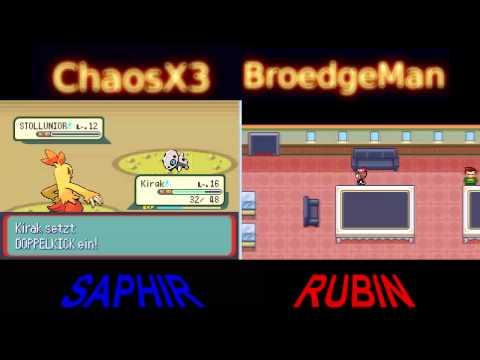 Let's Race Pokémon Saphir/Rubin [German/Deutsch] #5 - Beachparty