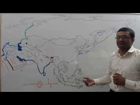 ASIA POLITICAL DIVISIONS , LOCTION, PHYSICAL FEATURES  PART 1 BY OFFICER CHOICE