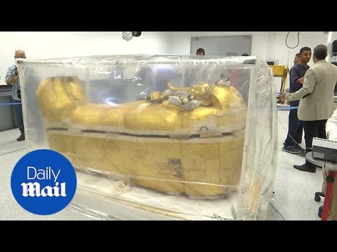 King Tut's Coffin Removed From Tomb To Be Fully Restored