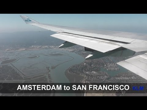 KL 605 | Amsterdam (AMS) to San Francisco (SFO)
