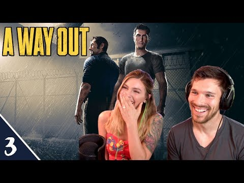 So Much Fun! | A Way Out Pt. 3 | Marz Plays