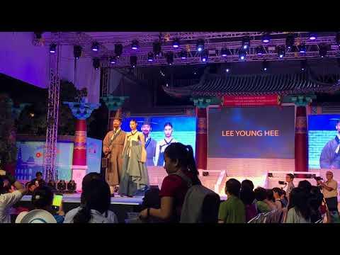 Ho Chi Minh city- Gyeongju world culture expo 2017 Hanbok fashion show