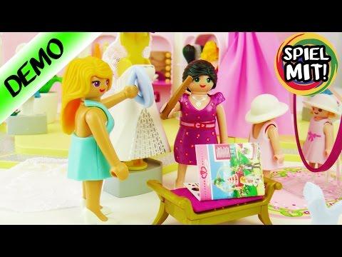 Playmobil Brautgeschäft mit Salon   Toller Braut Laden mit vielen Kleidern und Frisuren