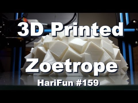 harifun 159 3d printed zoetrope youtube
