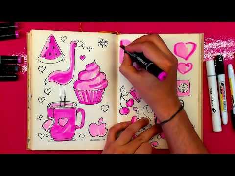 Личный дневник своими руками. Идея для девочек.