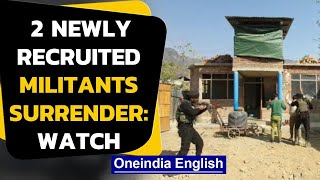 Kashmir: Militants surrender, mothers welcome them back | Oneindia News