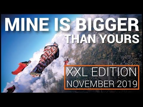 Skydive Algarve - Wingsuit Boogie - Mine Is Bigger Than Yours - XXL November Edition 2019 -