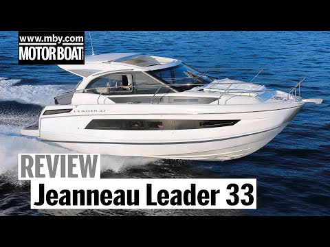 Jeanneau Leader 33 video: Inboard and outboard versions go head-to