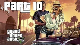 Grand Theft Auto 5 Walkthrough Gameplay w/ Commentary Part 10 - Casing out first Heist (Xbox 360)
