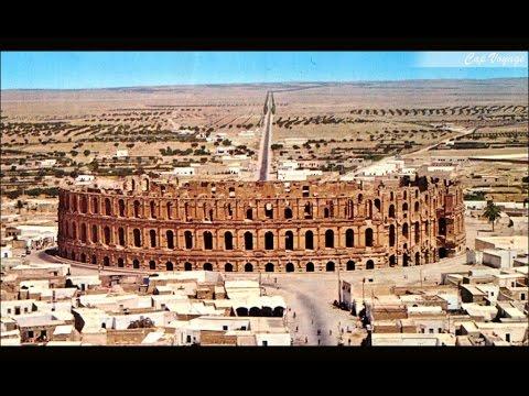 Visite de l'amphitheatre el jem colisée Thysdrus