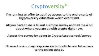 Win Our Suite Of Crypto Education Products Worth $300
