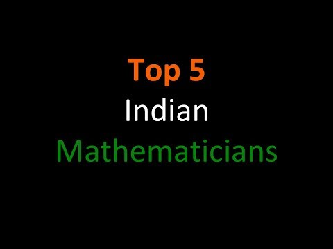 Top 5 Indian Mathematicians Ever