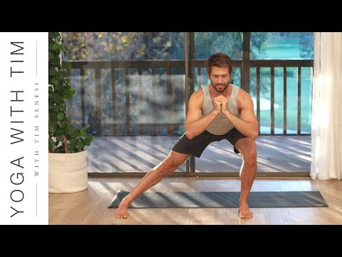 Yoga Workout For Lower Body & Core Strength 6 Pack Abs Legs Hips and Glutes | Yoga With Tim